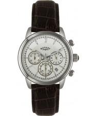 Rotary GS02876-06 Herren-Uhren monaco Elfenbein braun Chronograph Sportuhr