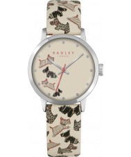 Radley RY2367 Damen Fleet Street Creme Lederband Uhr