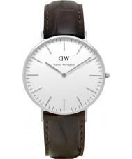 Daniel Wellington DW00100055 Damen klassisch york 36mm silberne Uhr