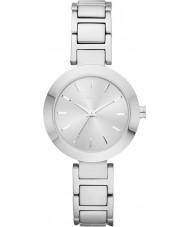 DKNY NY2398 Damen Stanhope Silber Stahl Armbanduhr