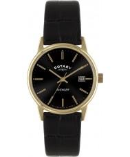 Rotary GS02877-04 Herren-Uhren Rächers Rotgold schwarz Uhr