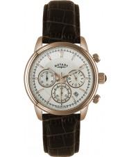Rotary GS02879-06 Herren-Uhren monaco Gold braun Chronograph Sportuhr