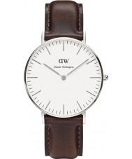 Daniel Wellington DW00100056 Damen klassische bristol 36mm silberne Uhr