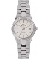 Rotary LB02735-06 Damen Uhren Rächers Silber Stahl-Uhr