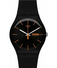 Swatch SUOB704 New Gent - dunkel Rebell Uhr