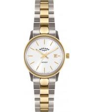 Rotary LB02736-02 Damen Uhren Rächers Gold mit zwei Tönen Uhr