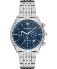 Emporio Armani AR1974 Mens kleiden Silber Stahl Armbanduhr