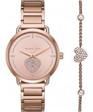 Michael Kors MK3827 Damen Portia Uhr Geschenkset