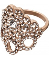 Edblad 82886 Damen liz matte Rotgold Ring - Größe q (l)