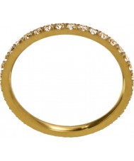 Edblad 216130153-M Damen leuchten micro matt goldenen Ring - Größe p (m)