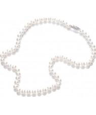 Purity 925 PUR6145 Damen weiße Perle 45cm Halskette