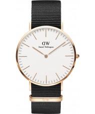 Daniel Wellington DW00100257 Herren klassische Cornwall 40mm Uhr