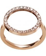 Edblad 3151441908-M Damen glühen Roségold vergoldet Ring - Größe p (m)