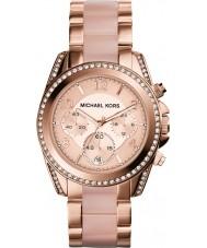 Michael Kors MK5943 Damen blair rosé vergoldet Chronograph