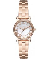 Michael Kors MK3558 Damen Norie Roségold vergoldet Armband-Uhr