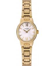Rotary LB02748-01 Damen Uhren olivie vergoldete Uhr