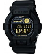 Casio GD-350-1BER Mens g-shock Weltzeit schwarze Uhr