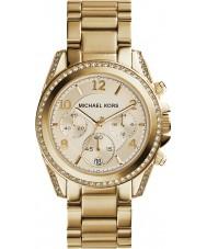 Michael Kors MK5166 Damen vergoldet Chronograph