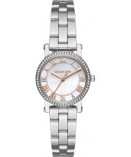 Michael Kors MK3557 Damen Norie Silber Stahl Armbanduhr