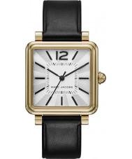 Marc Jacobs MJ1437 Damen vic schwarzes Lederband Uhr