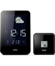 Braun BNC013BK-RC Funk-Wetterstation Uhr - schwarz