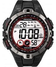 Timex T5K423 Mens rot schwarz Marathon Sportuhr