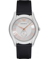 Emporio Armani AR1984 Mens klassische schwarze Lederband Uhr