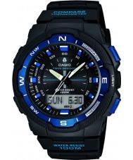 Casio SGW-500H-2BVER Herren-Kollektion Kompass schwarz Kombi-Uhr