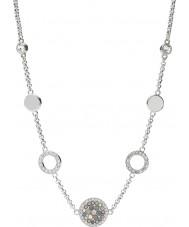 Fossil JF02312040 Damen Weinlese Glitz Silber Stahl Halskette