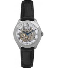 Rotary GS90508-02 Mens les originales jura automatische Skelett silberne Uhr