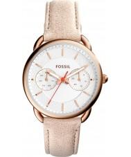 Fossil ES4007 Damen Schneider hellbraune Lederband Uhr