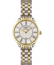 Rotary LB02916-06 Damen Uhren elise Gold mit zwei Tönen Uhr