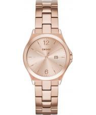 DKNY NY2367 Damen parsons Roségold vergoldet Uhr