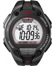Timex T5K417 Mens schwarz ironman 30 Runde übergroße Sportuhr
