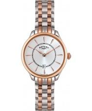 Rotary LB02917-02 Damen Uhren elise zwei Ton stieg goldene Uhr