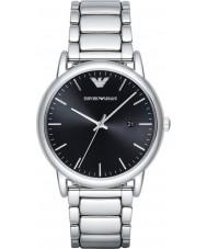 Emporio Armani AR2499 Mens kleiden Silber Stahl Armbanduhr