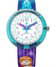 Flik Flak FLNP027 Mädchen Disney gefrorene elsa und Anna Uhr