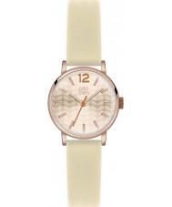 Orla Kiely OK2012 Damen frankie Creme Lederband Uhr