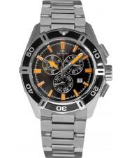 Rotary AGB90088-C-04 Mens Aquaspeed pacific schwarz silber Chronograph