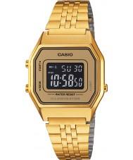 Casio LA680WEGA-9BER Sammlung klassische vergoldete Uhr