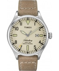 Timex TW2P83900 Mens waterbury tan Lederband Uhr