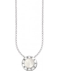 Thomas Sabo KE1492-029-14-L45v Damen Silber Unterschrift klassische Halskette mit Perlmutt