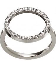 Edblad 3151441907-S Damen leuchten Silber Stahlring - Größe n (n)