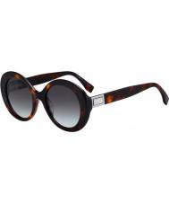 Fendi Damen ff0293 s 086 ib 52 Sonnenbrille