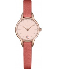 Radley RY2382 Damen lange Morgen Papaya Lederband Uhr
