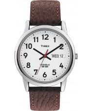 Timex T20041 Mens weiß braun leicht Leser Uhr