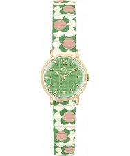 Orla Kiely OK4042 Damen Blume Pop rosa Creme grün wachsenden Armbanduhr
