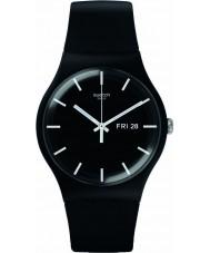 Swatch SUOB720 New Gent - mono black Uhr