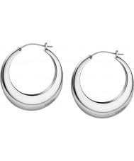 Calvin Klein KJ3DME080100 Damen atmen Silber Stahl gebürstet Ohrringe