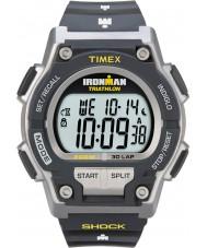 Timex T5K195 Mens grau ironman Schock widerstehen 30 lap Sportuhr